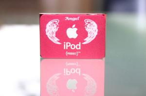 Apple iPod shuffle Lasergravur