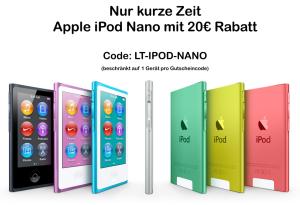 Apple iPod Nano Gutschein