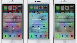 Control Center von iOS 7