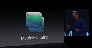 Multiple Display Unterstützung