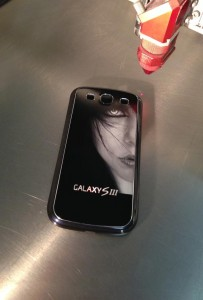 Samsung Galaxy S3 Lasergravur